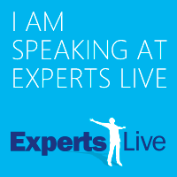 I'm speaking at Experts Live 2018!